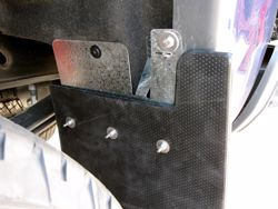 Truck Hardware Custom Fit Mud Flap Brackets