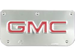 Picture of Single GMC Red Plate With Screws For 12