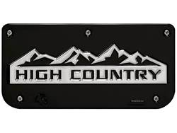 Picture of Single High Country Black Wrap Plate With Screws For 12