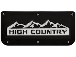 Picture of Single High Country Black Wrap Plate With Screws For 14