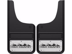 Picture of Truck Hardware Gatorback Mud Flaps - Chevy High Country Logo