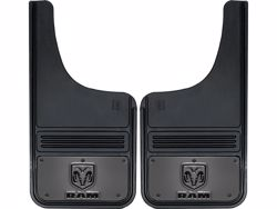 Picture of Truck Hardware Gatorback Mud Flaps - Gunmetal RAM Head Logo