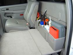 Picture of DU-HA Behind The Seat Storage - Black