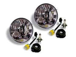 Picture of KC Headlight Conversion Kit - For Use w/H4 Headlights - Includes 2 Headlight Replacements - 2 Conversion Cables For H13 To H4 Bulbs
