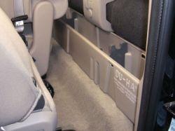 DU-HA Behind The Seat Storage