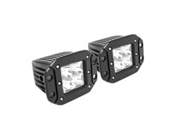 Westin FM4Q LED Flush Mount Auxiliary Lights - Set of 2