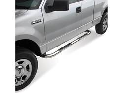 Westin E-Series 3 in. Round Step Bar Cab Length - Stainless