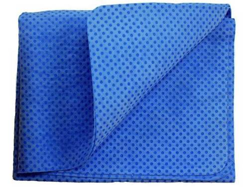 """33""""x19"""" Synthetic Drying Cloth - Blue"""