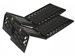 Picture of Rampage GripTrack Traction Plate - Molded Plastic - Triple Panel Design - w/Storage Bag - Pair