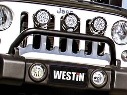 Picture of Westin Snyper Jeep Bumper Mount Light Bar