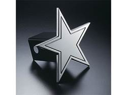Picture of Trailer Hitch Cover - Star - Aluminum - Polished