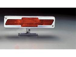 Picture of Pedestal Third Brake Light - Brushed - Chevrolet Bow-Tie