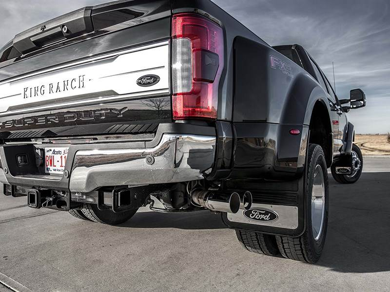 Gatorback GMC Sierra Truck Mud Flaps Rear Dually Pair 21x24