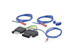 Picture of Curt 4-Way Round To 5-Way Flat Wiring Adapter
