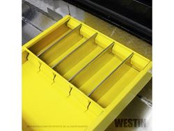 Picture of Westin Brute Tool Box Tray - For Brute Tool Boxes - Yellow