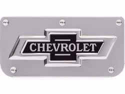 Single Chevy Classic Logo Plate with Screws For 12