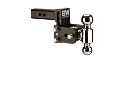 B&W Tow & Stow Adjustable Dual Ball Mount
