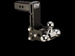 B&W Tow & Stow Adjustable Tri Ball Mount