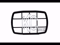Picture of KC Gravity LED G46 Protective Stone Guard - Black - Sold Individually