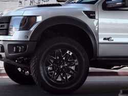 Fuel Black Ambush Wheels