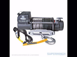 Superwinch Tiger Shark 11500 Winch Synthetic - 11,500 lbs. - Synthetic Rope