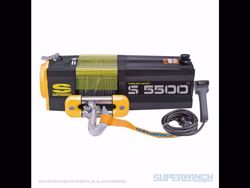 Picture of Superwinch S5500 Winch - 5,500 lbs. - Steel Rope