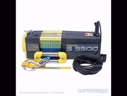 Picture of Superwinch S5500 Winch Synthetic - 5,500 lbs. - Synthetic Rope