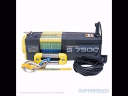 Picture of Superwinch S7500 Winch Synthetic - 7,500 lbs. - Synthetic Rope