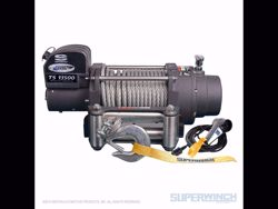 Picture of Superwinch Tiger Shark 13,500 Winch - 13,500 lbs. - Steel Rope