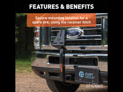 Picture of Curt Spare Tire Carrier Mount