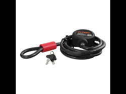 Picture of Curt Security Cable - 6' Cable - 10mm Diameter - w/locking Cinching Feature - Includes 2 Keys