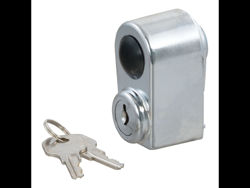 Picture of Curt Spare Tire Lock - Chrome - Includes 2 Keys