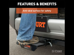 Picture of Curt Step Pad - w/Anti-Skid Surface
