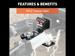 Picture of Curt Sway Tab Ball Mount - 2