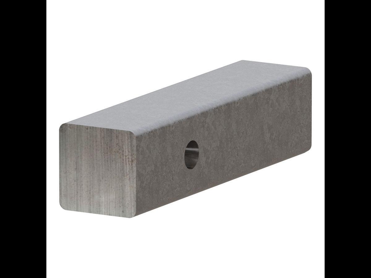 CURT 49535 Raw Steel Hitch Bar