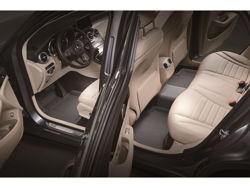 Picture of 3D MAXpider Kagu Floor Liners - Gray - 1st Row, 2nd Row