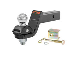 Picture of Curt RockerBall Adjustable Cushion Hitch Ball Mount - 2