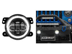 Picture of XK Glow LED Fog Light Replacement - Jeep Wrangler JK