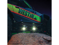 Picture of Westin Rock Lights - Includes 4 Lights - 9' Wiring Harness - Switch