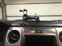 Picture of BuiltRight Industries Dash Mount - 2009-2014 Ford F-150