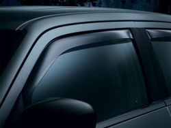 Picture of WeatherTech Side Window Deflector - Front - Dark Tint