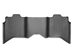 Picture of WeatherTech Floor Liners - Black - Rear