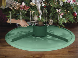 Picture of WeatherTech Christmas Tree Mat - Dark Green - Large 35 in. Dia. - Plain Box