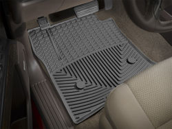 Picture of WeatherTech All-Weather Floor Mats - Black - Fronts