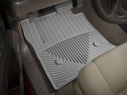 Picture of WeatherTech All-Weather Floor Mats - Gray - Fronts
