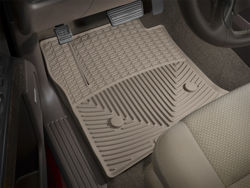 Picture of WeatherTech All-Weather Floor Mats - Tan - Front