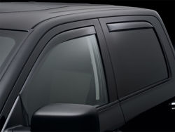 Picture of WeatherTech Side Window Deflector - 4 pc. - Dark Tint - Crew Cab - Extended Crew Cab