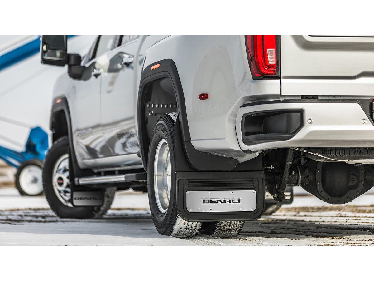 2020-2021 gmc sierra 3500 hd denali logo gatorback dually